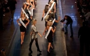2011 Miss America Contestants Return to Fashion Mall's Runway in Style with the Joseph Ribkoff Collection