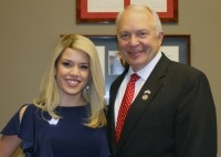 Miss America 2011 Teresa Scanlan Meets With Top Government Leaders to Advocate for Women and Educational Initiatives