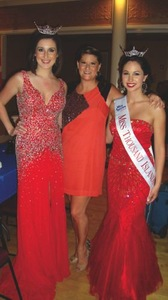 Shelby Cohen with Miss Thousand Islands 2012 Allison Carlos and Miss Thousand Islands 2013 Lonna McCary
