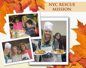 Miss America 2011 Teresa Scanlan Gives Back at the New York City Rescue Mission