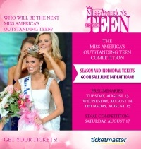 Tickets on Sale for MAOTeen Competition