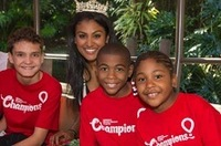 Miss America Joins the Children's Miracle Network Disney Celebration