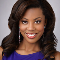 Miss North Texas.Head shot.Ivana Hall