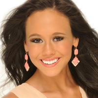 Miss Southwest Texas.Head Shot.Christa Rachelle Newman