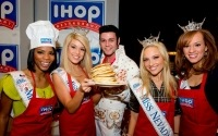 53 Miss America Contestants Flip Pancakes to Raise Money for Children's Miracle Network